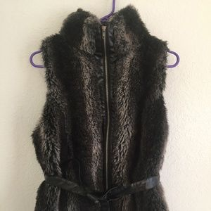 Bacci Faux Fur Vest
